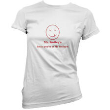 Mr Smiley's Smile You're At Smiley's - Womens / Ladies T-Shirt - Film - Movie
