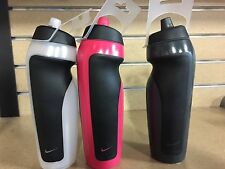 NEW Nike Sport 20 oz. Water Bottle - Black, Atomic Green, Pink, Red, Clear, Blue
