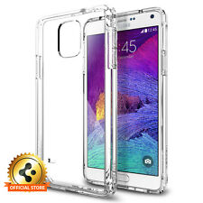 Spigen® Samsung Galaxy Note 4 Case [Clear Back + Bumper] Ultra Hybrid SERIES