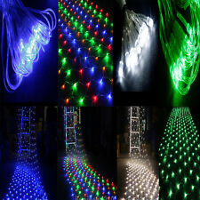 120 LEDs 110V Net Fairy String Light Mesh Lighting Xmas Party Wedding 4 Color