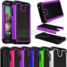 Rugged Armor Heavy Duty Impact Hybrid Hard Case Cover Skin For HTC Desire 610