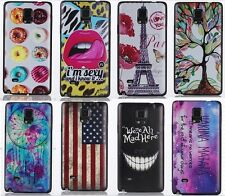NEW Fashion Pattern Painting Case Cover Skin For Samsung Galaxy Note 4 N9100 Hot