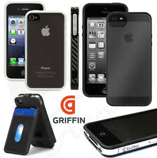 Genuine Griffin Case Reveal Slim Fit Frame Graphite Bumper Back Skin for iPhone