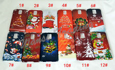 Hot Christmas Phone Case Back Cover Protect For Samsung S3 S4 S5 Note 3 Note 4