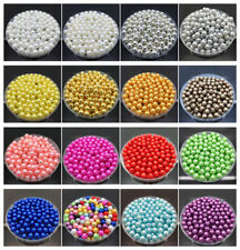 Wholesale 31'' Strand Czech Glass Pearl Round Beads 3/4/6/8/10/12/14/16mm NEW