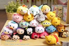 "3.5""JapanTsum Tsum Disney Store Mini Style Stuffed Plush Doll Screen Cleaner Toy"