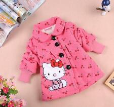 Hello Kitty Winter Fleece Lined Coat Jacket