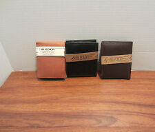 MEN'S BI-FOLD WALLET SOLID COLORS DIFFERENT COLORS TO CHOOSE FROM