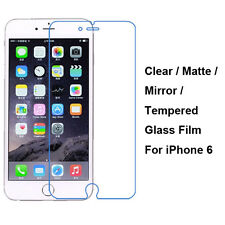 """Tempered Glass/Clear/Matte/Mirror Film Screen Protector For iPhone 6 / 6S 4.7"""""""