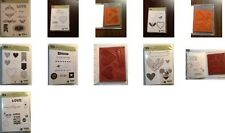 Stampin' Up! VALENTINE/LOVE RETIRED Stamp Sets, CLEAR