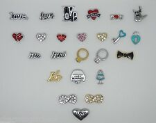 Love & Marriage Floating Charms for Living Memory Lockets