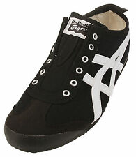 ASICS Men's Onitsuka Tiger Mexico 66 Slip-on Fashion Sneakers Shoes, Black