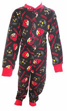 Angry Birds Boy's Black Onesie Ages 4-10 Years Available
