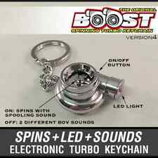 Boosted Turbo Keychain Electronic Battery Operated with Spooling and BOV Sound!
