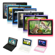"Multicolor 7"" A33 Quad Core 16GB Tablet PC Android 4.4 Kitkat WiFi w/ Keyboard"