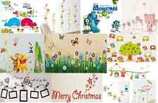 Variety of Removable Vinyl Wall Sticker Art Decal Room Decor Kids Animal Movie