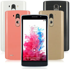 "5"" Unlocked Android 4.4 Smart Cell Phone Dual Core 3G/GSM GPS WIFI AT&T T-mobile"