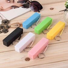 Portable Mobile Power Bank USB 18650 Battery Charger Key Chain for iPhone MP3 SU