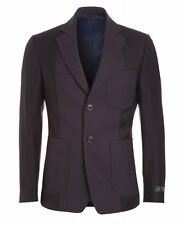 Vivienne Westwood Man Navy And Red Two Tone Jacket