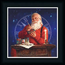 Finishing Touches by Mark Missman Santa Claus Workshop Framed Art Print Picture