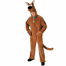 Mens Scooby Doo Rubies New Adult Deluxe Dog Fancy Dress Animal Costume Outfit
