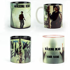 Walking Dead Daryl Rick Mugs Gift Personalized cups coffee tea quality ceramic