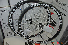 New2014 Spinergy Stealth PBO Colors Wheel Set Shimano or Campy 700c or 650c Road