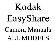 Kodak EasyShare Digital Camera Manual Guide C & CD #2