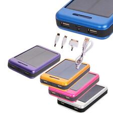 30000mAh External Solar Power Bank Charger for iPhone 5S 6 Plus LG G2 G3 HTC M8