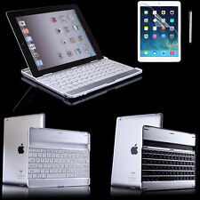 Stand Aluminum Case Cover with Bluetooth Keyboard for Apple iPad 2nd 3rd 4th Gen