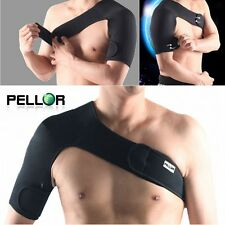 Adjustable Stretch Black Single Shoulder Support Brace