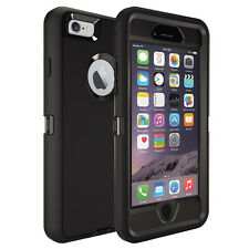 iphone 6 4.7/6 PLUS iphone 4 5 5c Case Two-Layer Military Builder Defender Cover