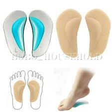 Pair Kid Flat Feet Arch Orthotic Support Shoe Insole Gel Pads Insert Pain Relief