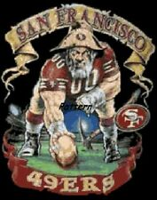 San Francisco 49ers Mascots, logo etc. Cross Stitch Pattern. Paper vers. or PDF.