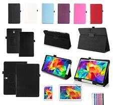 New Leather Stand Case Cover  For Samsung Galaxy Tab 4 Tab S Tab PRO Tablet