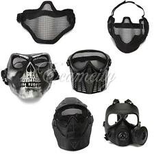 Tactical Face Protection Safety Gear Mask Guard for Paintball Airsoft Game COOL