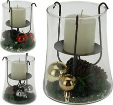 Lovely Christmas Candle Holder with Christmas Decorations Table Decorations