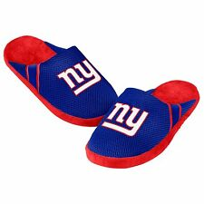 New York Giants Jersey Mesh SLIDE SLIPPERS New - FREE SHIPPING - NY Giants