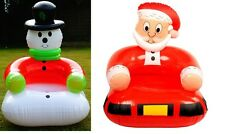 Inflatable / Blow Up Snowman, Father Christmas / Santa, Fun Children's Chair