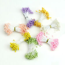 Artificial Flower Double Heads Stamen Pearlized Craft Cards Cakes Decor Floral