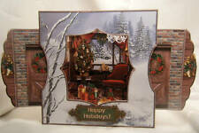 Handmade Greeting Card - Room With a View - A Victorian Holiday