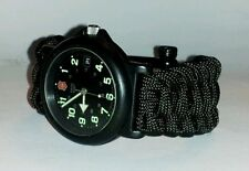 TRILOBITE PARACORD SURVIVAL WATCH BAND - YOU CHOOSE COLOR/S & SIZE