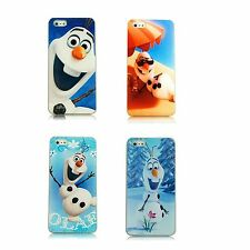Frozen Olaf Phone Case For iPhone 4/4s, 5/5s, 5c, 6, 6 Plus, Samsung S3, S4, S5