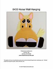 Horse Wall Hanging-Plastic Canvas Pattern or Kit