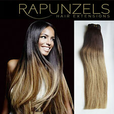"20"" Ombre, balayage, dip dye remy hair extensions weft 1ft, 2ft, 3ft, 6ft or 9ft"