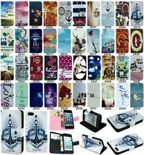 Popular flip wallet pu leather stand case cover for Samsung Galaxy S3 Mini i8190
