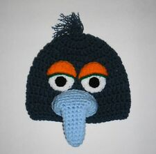 Gonzo The Great ~ Muppet ~ Sesame Street  Beanie Hat Crocheted