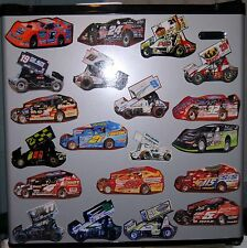 2013 Dirt Modified - Refrigerator/ Tool Box/ Locker Magnets