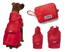 KONG STOWAWAY RAIN DOG JACKET COAT COMPACT POUCH RED  Size: Misc
