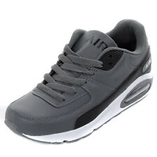 Boys Intercept  Air Max 90 Dark Grey Running Trainers Sports Shoes Boys Size